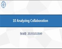 10 Analyzing Collaboration