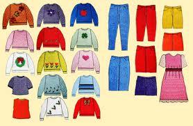 北师大版小学一年级Clothes