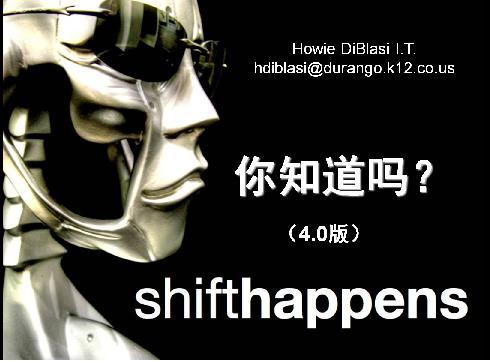 Shift Happens——你知道吗?