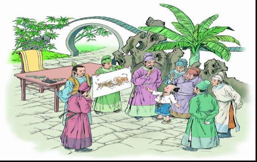 民生小学-李晓东-画家和牧童-2012年4月